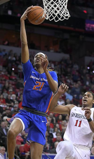 Boise State San Diego State Basketball