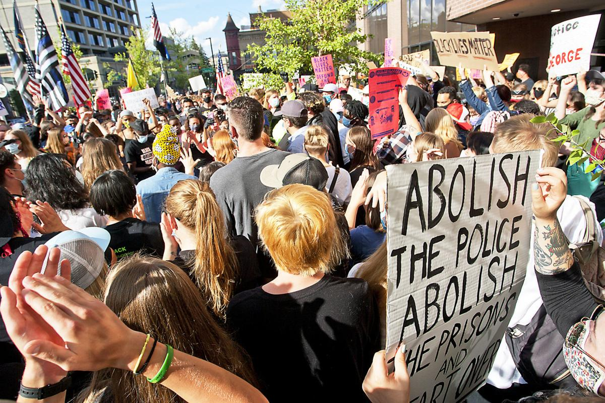 BLM Defund Police Rally