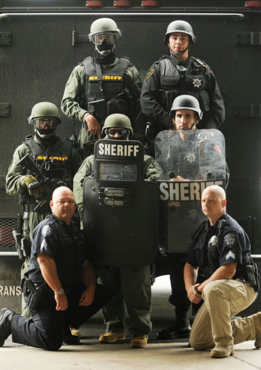 Specially Trained Officers Step In When Faced With Extraordinary