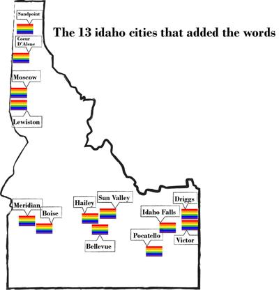 Add the words cities
