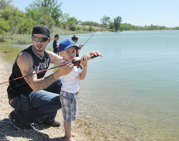 Kids 39 fishing day news for Lake lowell fishing