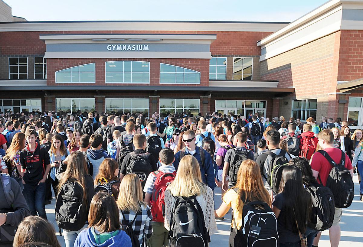 First day at Ridgevue High School