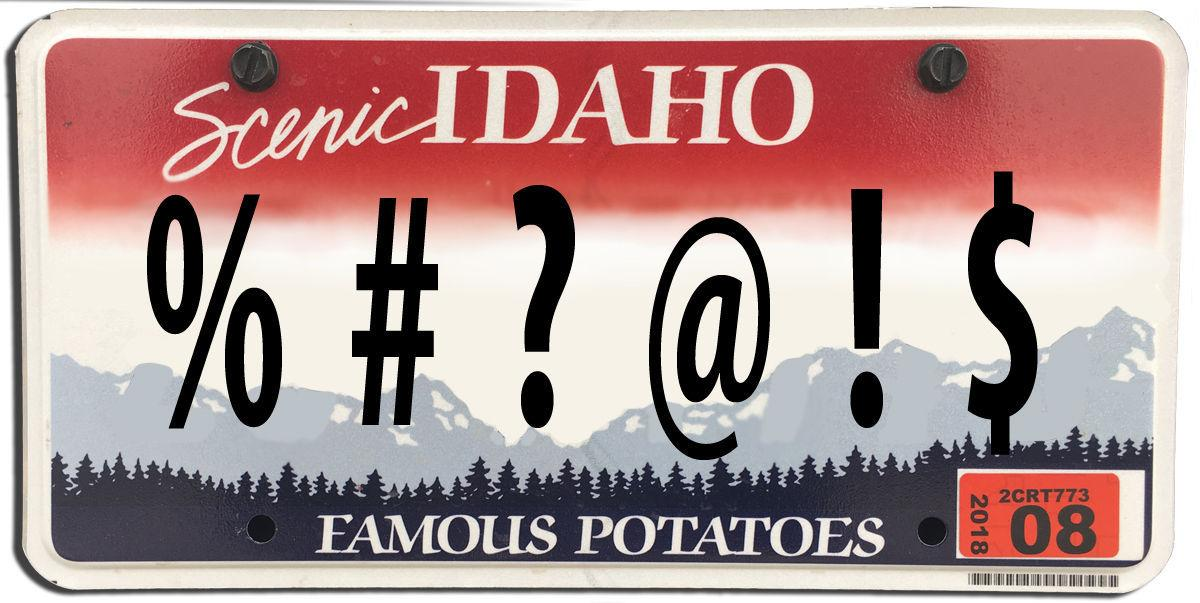 Image result for funny idaho license plate