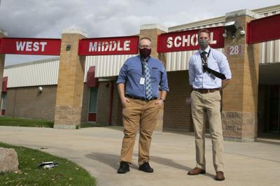 West Middle School leadership
