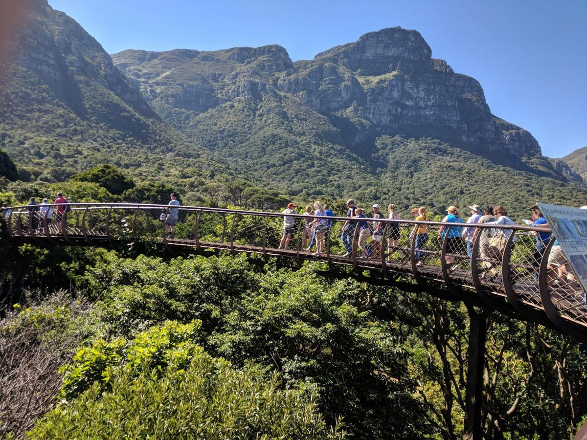 Sydney Anderson visits South Africa