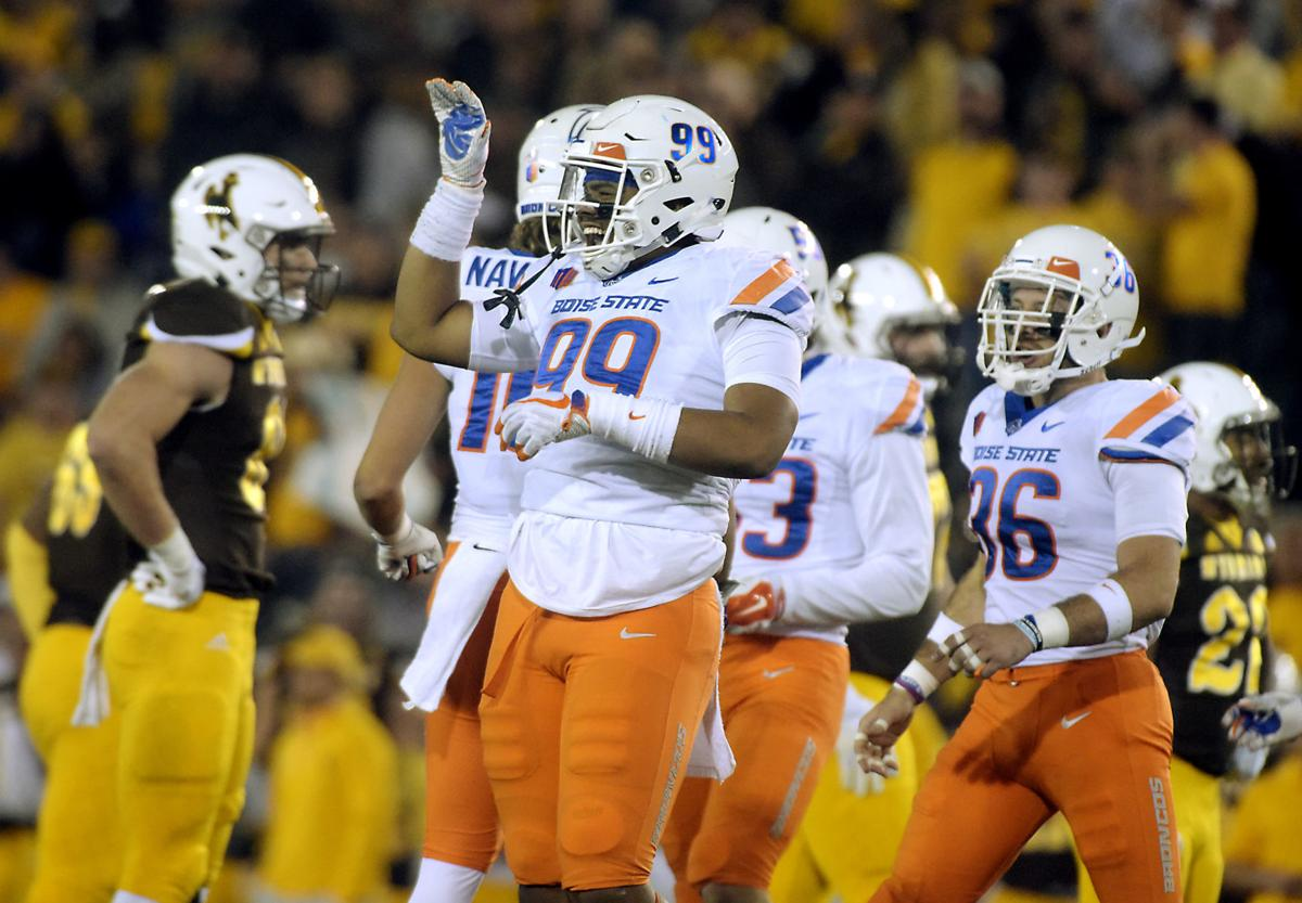 Boise State vs Wyoming Football