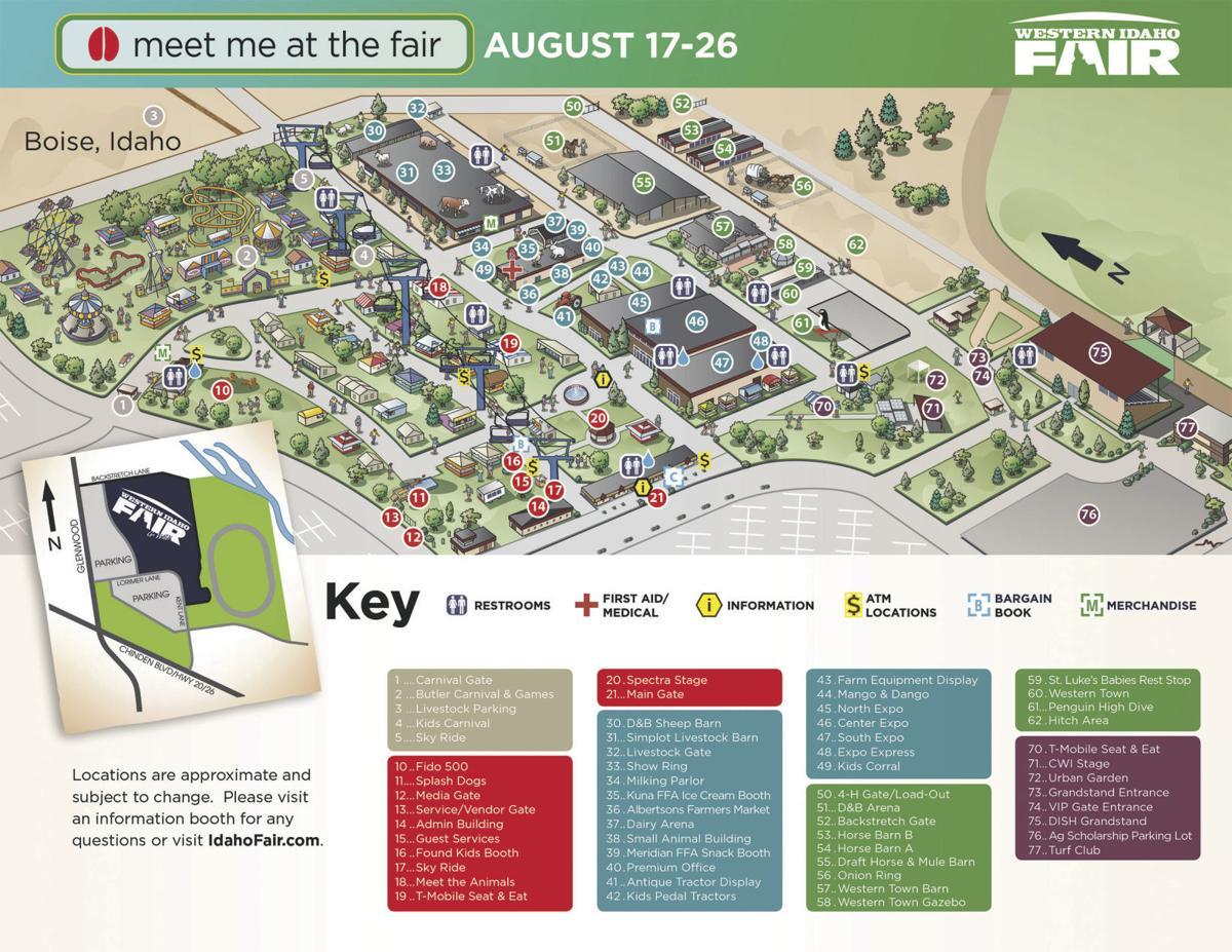 Western Fair Map