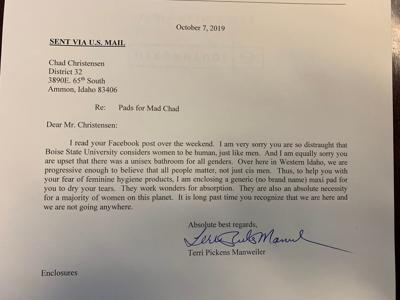 Screenshot Pickens letter