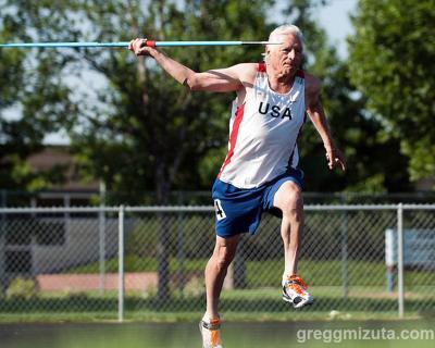 2013 Idaho Senior Games - William Platts, Javelin