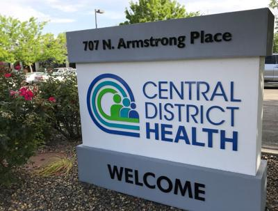 Central District Health sign