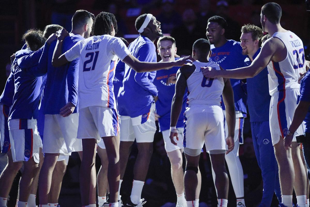 Boise State vs UNLV Basketball