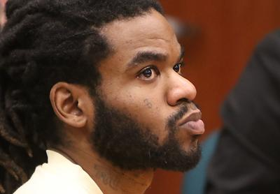 Timmy Kinner in courtroom