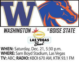 Vegas Bowl game info box