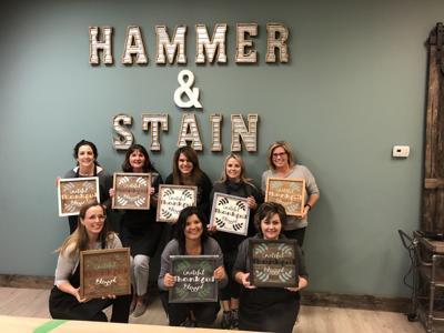 Hammer & Stain