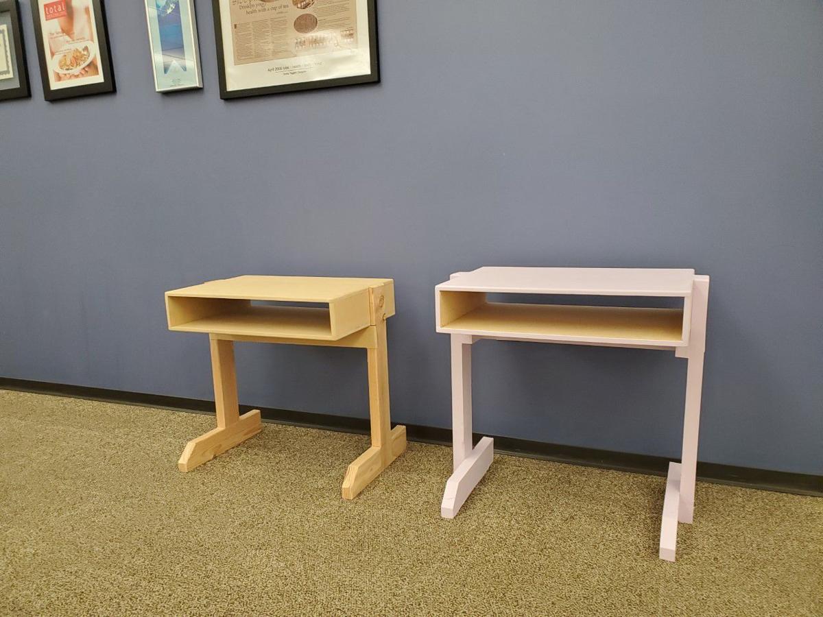 Finished desks