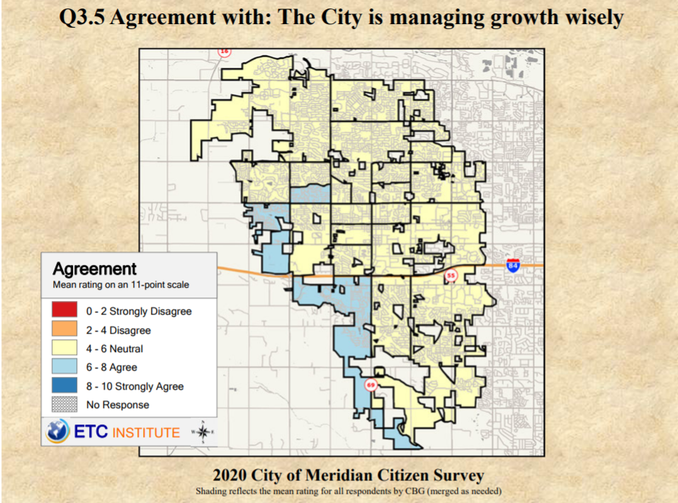 Meridian growth approval map