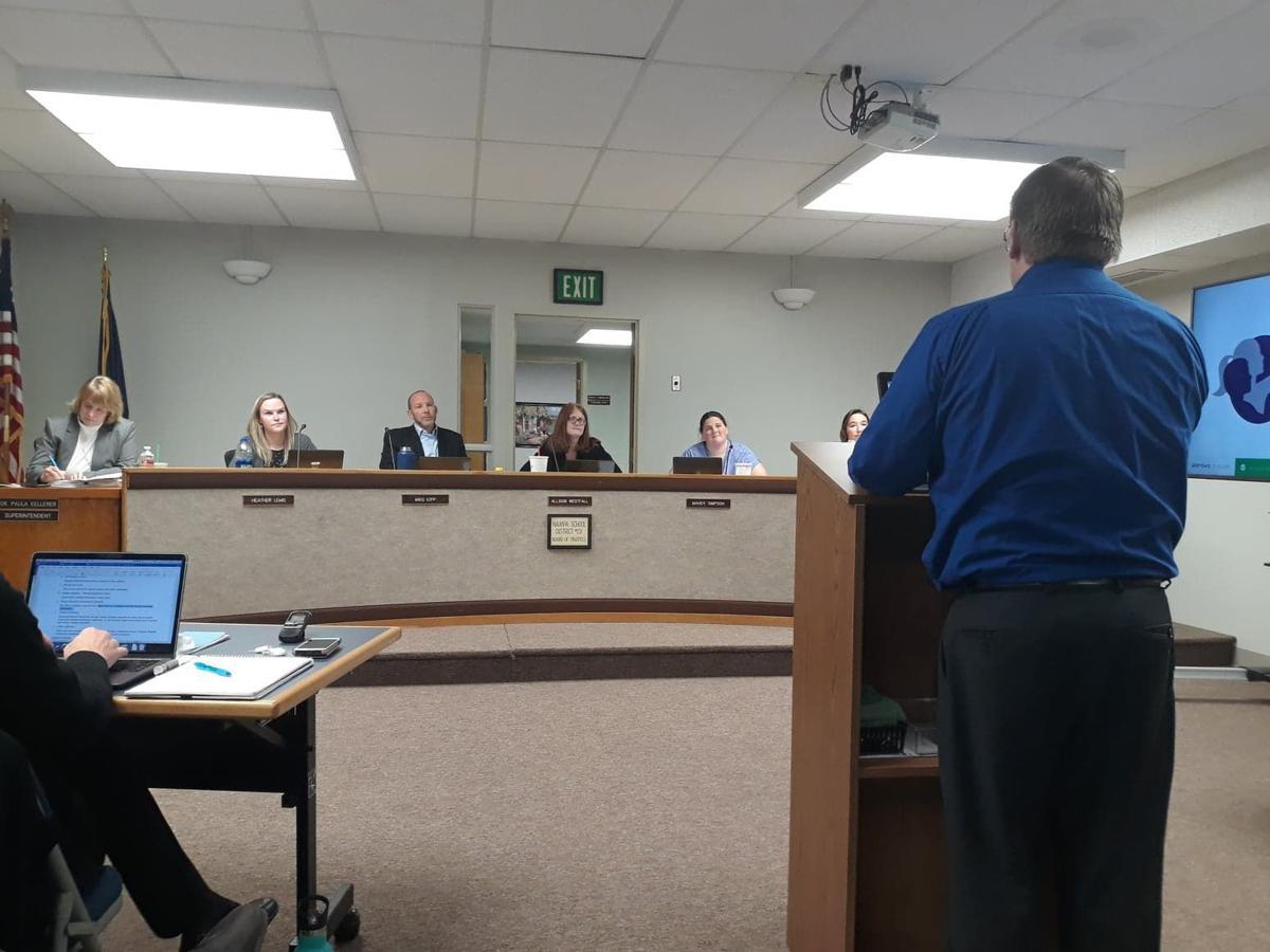 Nampa School board meeting