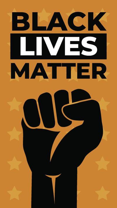 Black Lives Matter. Vector Illustration