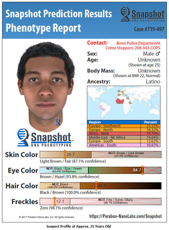 Boise Police hope a DNA generated profile leads them closer