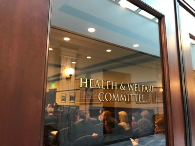 House Health & Welfare Committee sign