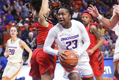 BSU vs New Mexico Lobos women's basketball