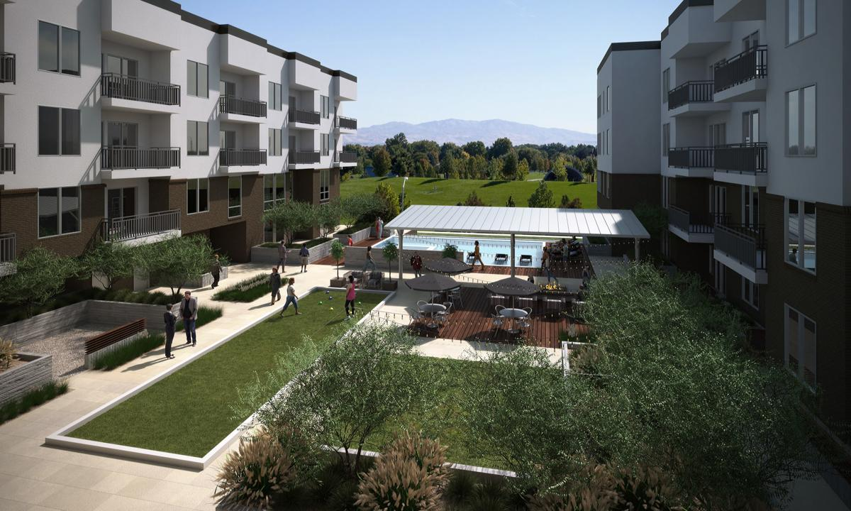 Village at Meridian apartments in the works | Planning ...