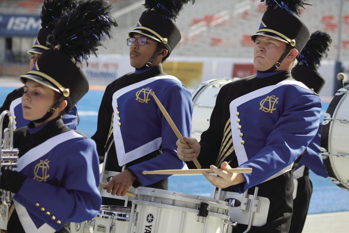 Local high school marching bands compete at DIII | Complete