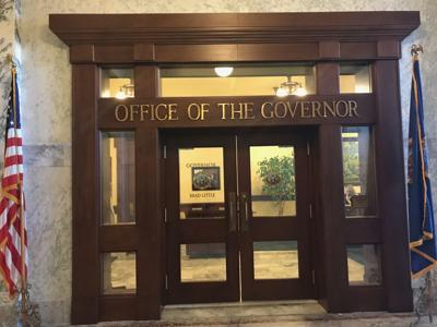 Governor's office door