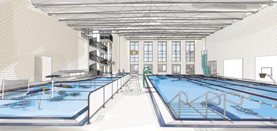 South Meridian YMCA aquatic center