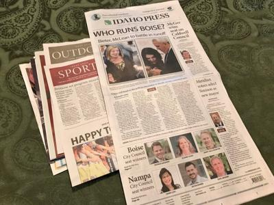 Nov. 6 edition of the Idaho Press