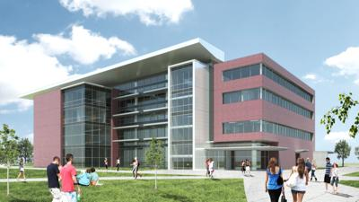 CWI health science building