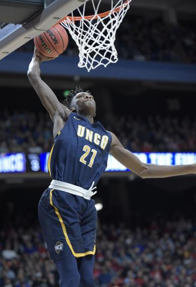 Gonzaga vs UNC Greensboro Basketball