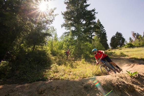 Bogus Basin mountain biking