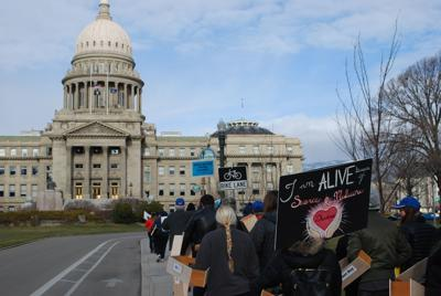 March to Protect Idaho Kids