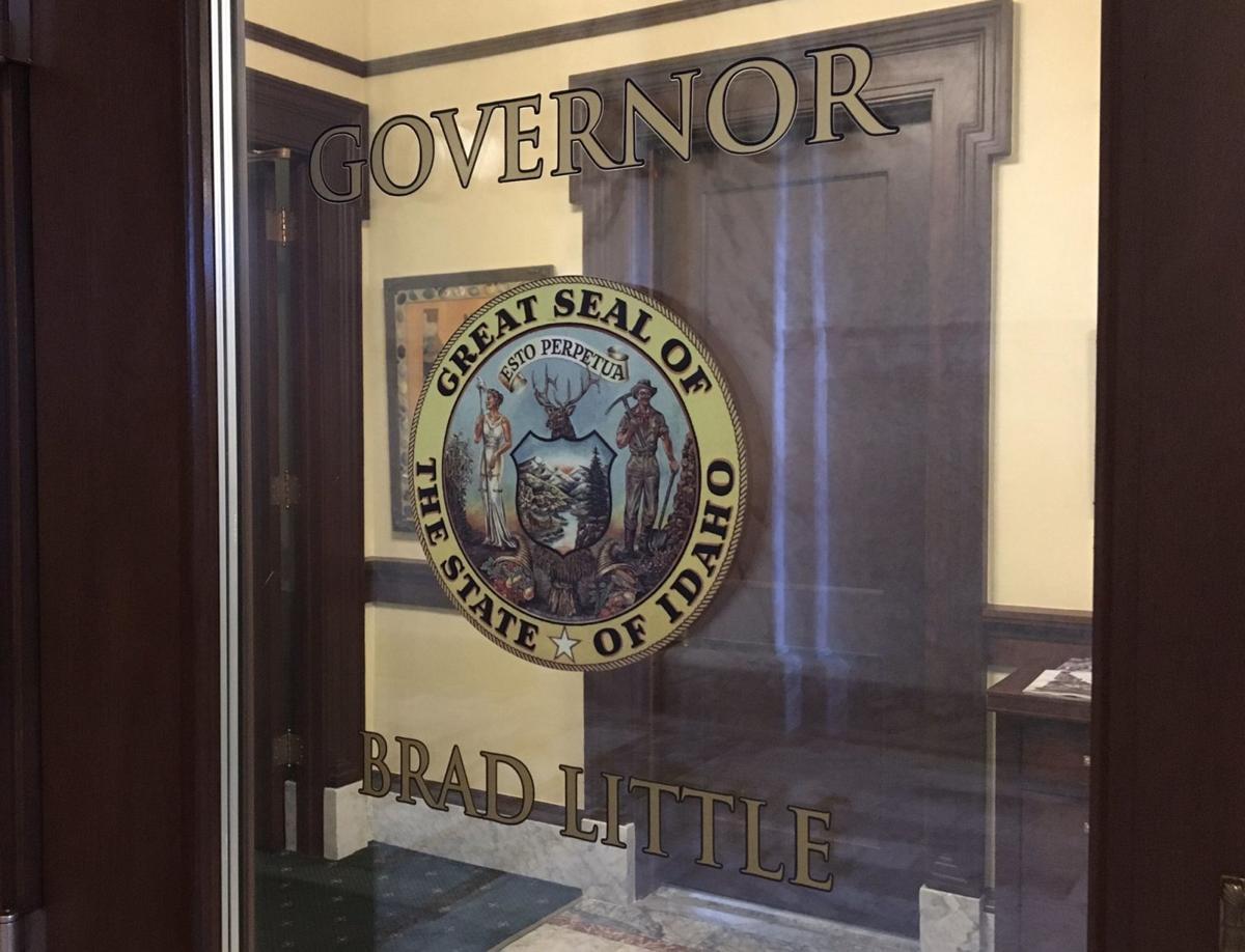 Gov's office door