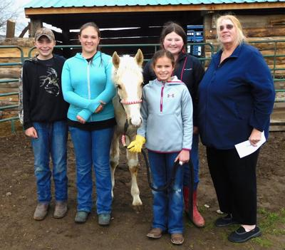 Quilters support 4-H mustang project