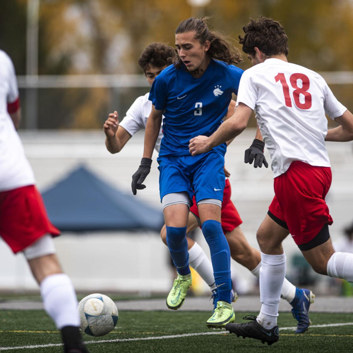 STATE 5A BOYS SOCCER: Timberline fends off Boise, 2-1