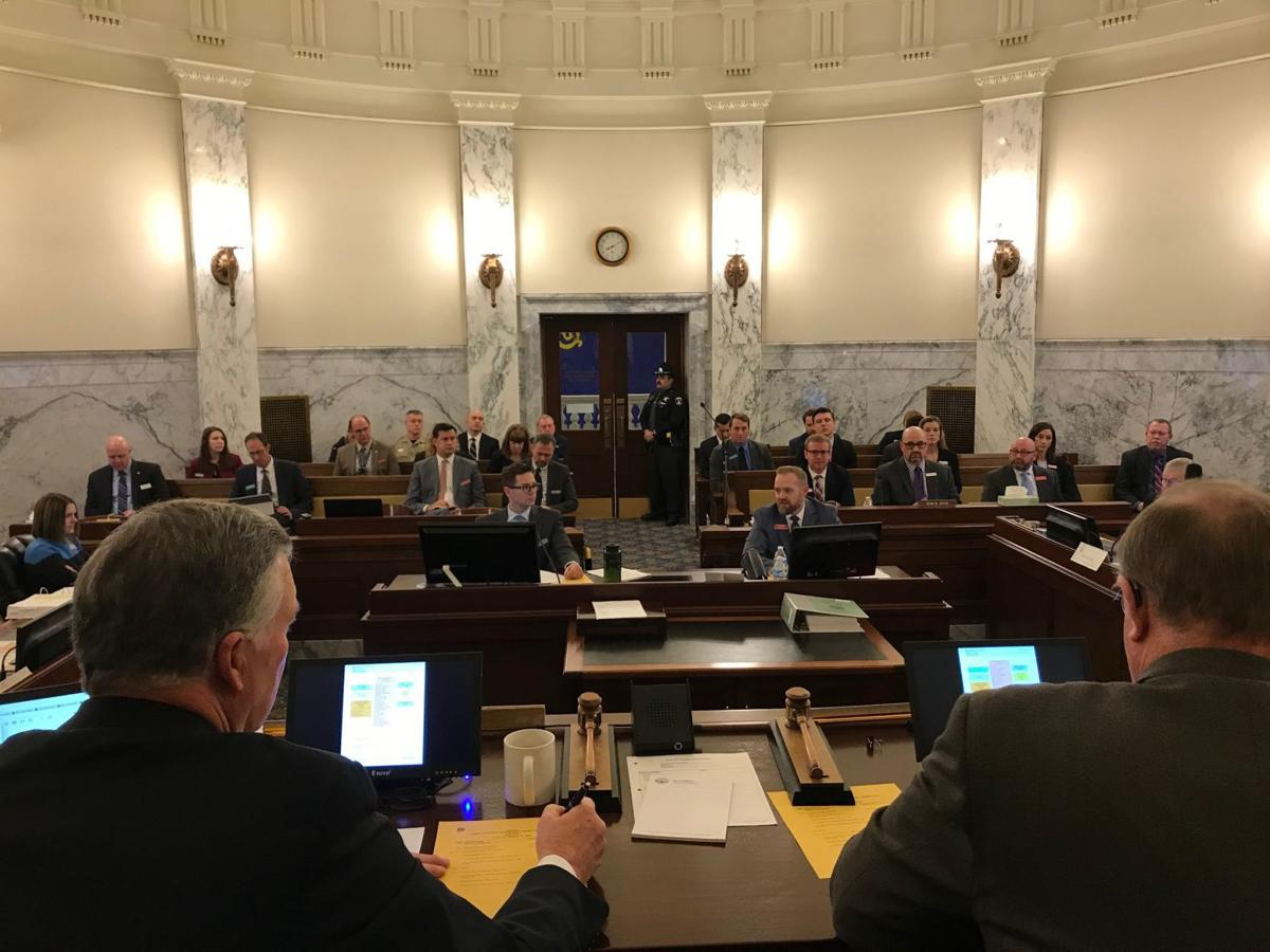 IDOC budget hearing at JFAC 1-14-20