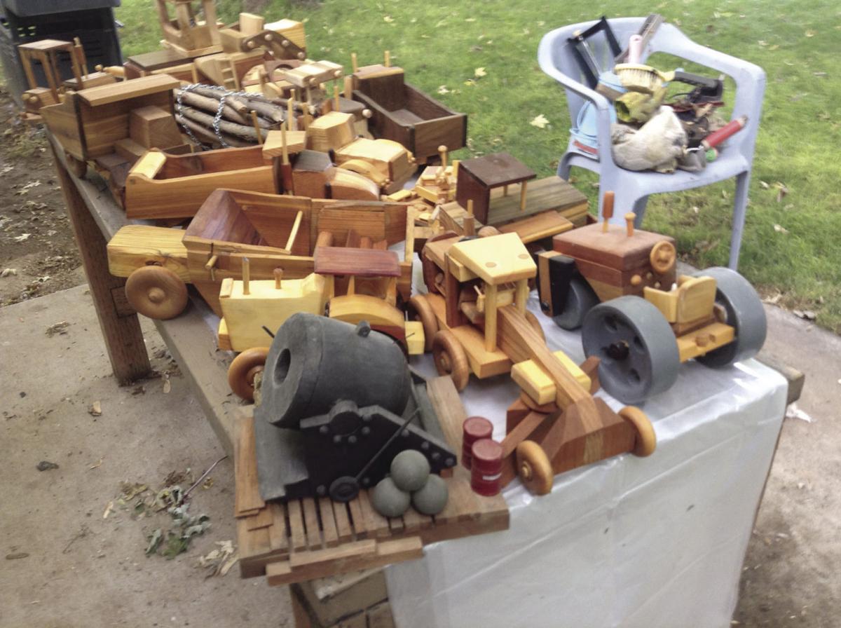 Zeke's wooden toys