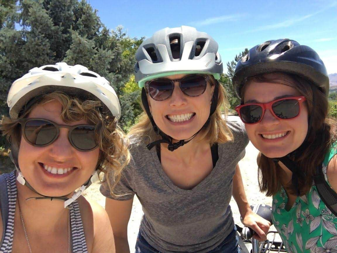 Sunnyslope bike tour with friends