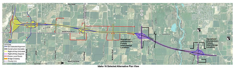 $6M approved to prepare for Hwy. 16 extension | Planning ... on idaho topo map, idaho pipeline map, idaho snow map, idaho landscape map, boise idaho map, interstate 422 map, hokkaido travel map, wa state map, montana state map, idaho hospital map, idaho fire map, idaho map with cities, northern idaho map, preston idaho map, idaho desert map, idaho travel map, idaho drive map, idaho rd map, oregon washington idaho map, idaho river map,