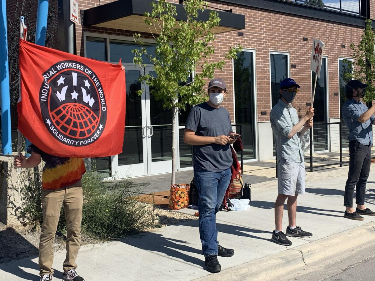 Picket Line at Pie Hole