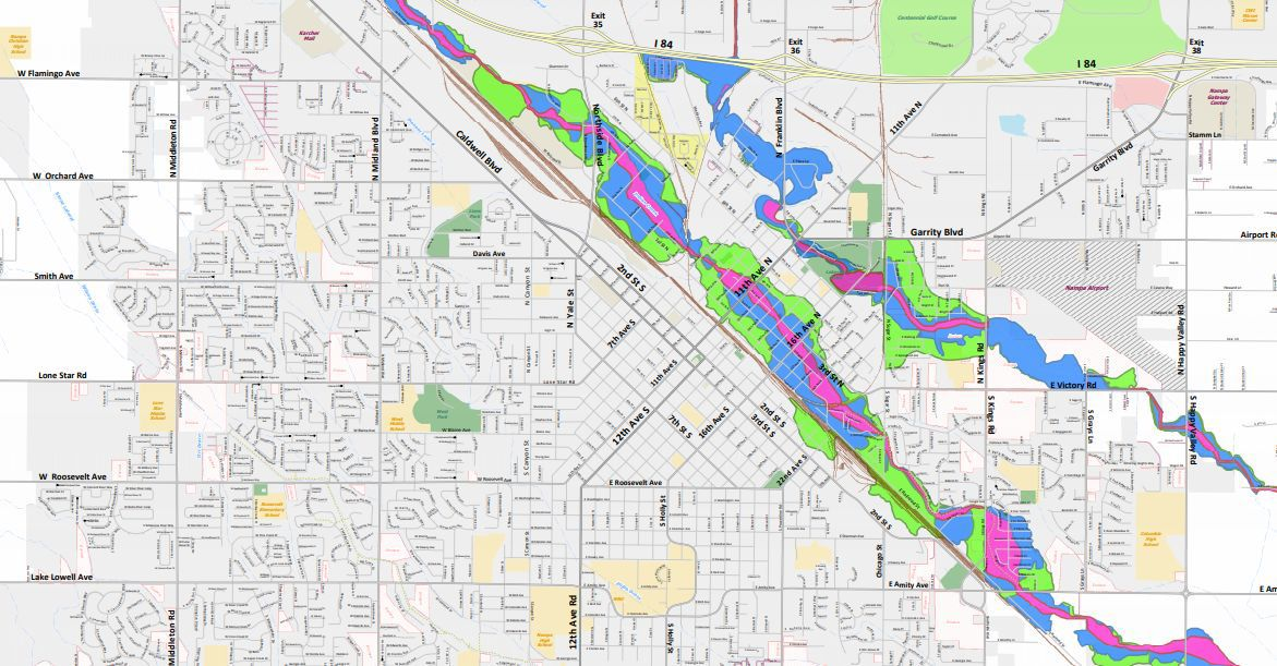 New research allows Nampa to revise floodplain map earlier than