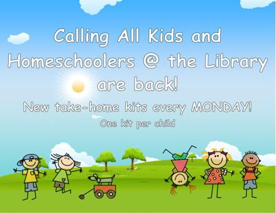 Calling All Kids and Homeschoolers @ Kuna Library