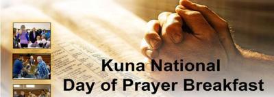 Day of Prayer Breakfast Flyer