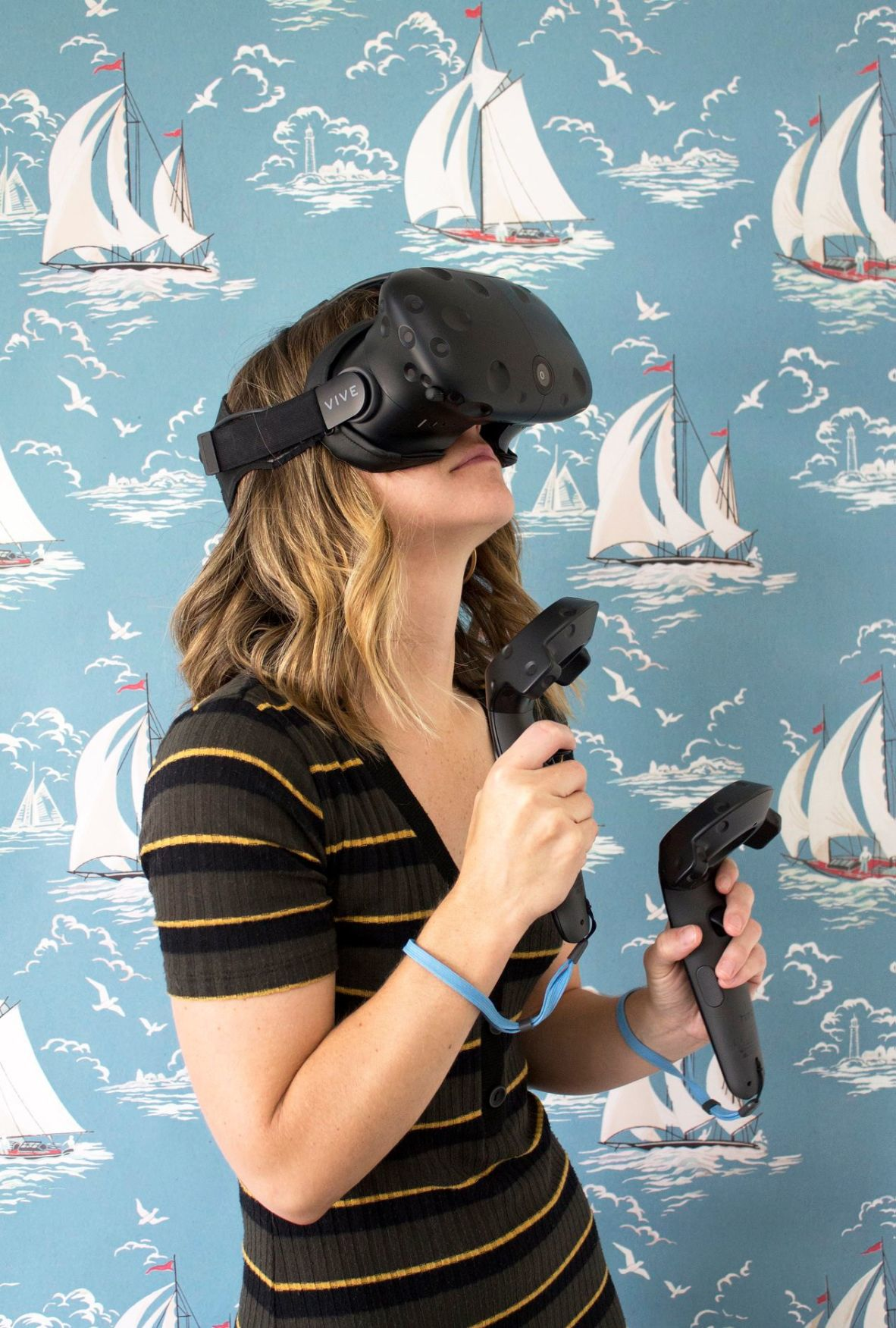 Virtual Reality experience in the James Castle House