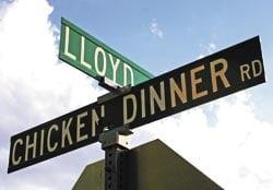 The true story of Chicken Dinner Road