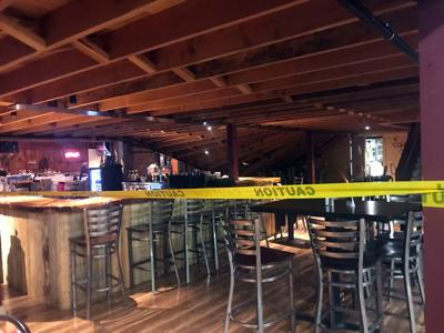 Portion of second floor caves in at Indian Creek Steakhouse | Local on