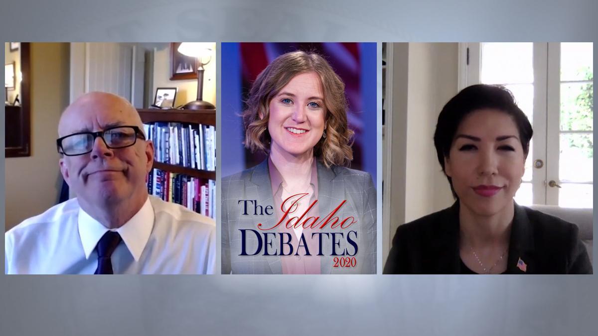 Jordan, Vandermaas appear in 1st installment of 'Idaho Debates'; link to full story
