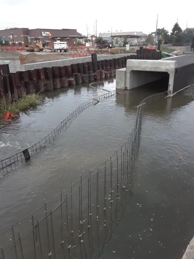 Indian Creek flooding